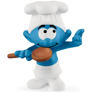 Schleich 20831 - Chef Smurf (pre order for approx. July 2021)