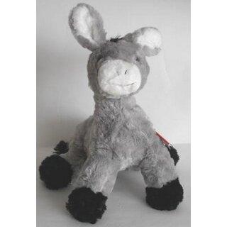 Teddy Hermann Seal Grey 32 cm Seal 90131 Cuddly Plush Toy Stuffed Animal