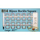 Rio Rondo Bijoux (1:18) B14s - Etched Buckles (silvery)