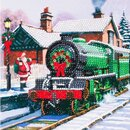 Craft Buddy CCK-XM63 - Crystal Card Santa Express