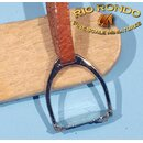 Rio Rondo Bijoux (1:18) Stirrups JX743s - English (silvery)