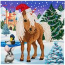 Craft Buddy CCK-XM37 - Crystal Card Winter Horse