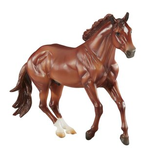 Breyer Traditional (1:9) 1831 - Sir Rugger Chex Checkers  Mountain Trail Champion